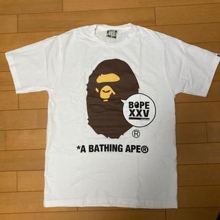A BATHING APE - BAPE 25周年 Tシャツ