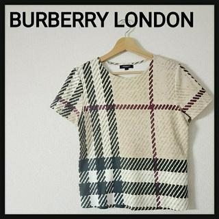 バーバリー(BURBERRY)の【美品】BURBERRY LONDON バーバリー ノバチェック Tシャツ M(Tシャツ(半袖/袖なし))
