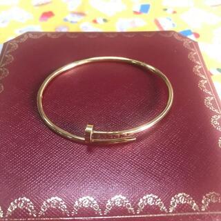 Cartier - ♡カルティエ ジャストアンクル ブレスレット♡#17ゴールド