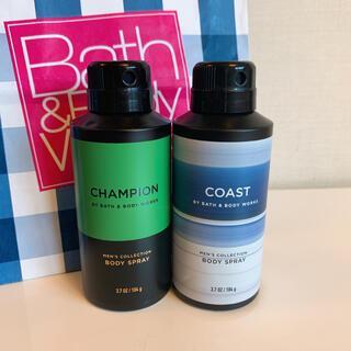 バスアンドボディーワークス(Bath & Body Works)の【新品】バスアンドボディワークス デオドラント 2点(日用品/生活雑貨)