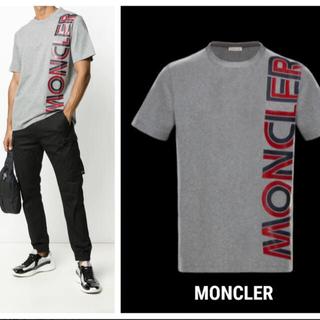 MONCLER - 新品正規品 MONCLER Tシャツロゴ メンズ XL