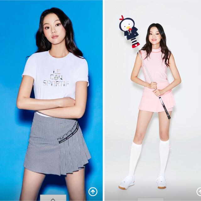 le coq sportif(ルコックスポルティフ)のルコック ゴルフレディース 韓国セット新品、正規品 スポーツ/アウトドアのゴルフ(ウエア)の商品写真
