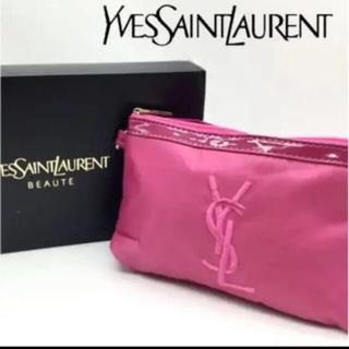 Yves Saint Laurent Beaute - イブサンローラン、非売品ノベルティポーチ