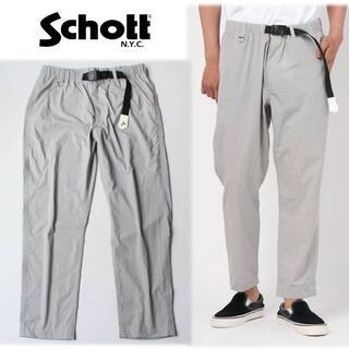 ショット(schott)の《ショット》新品 薄手 リラックスイージークロップドパンツ M(W80~84) (その他)