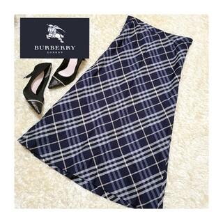 BURBERRY - BURBERRY LONDON*ノヴァチェックロングスカート