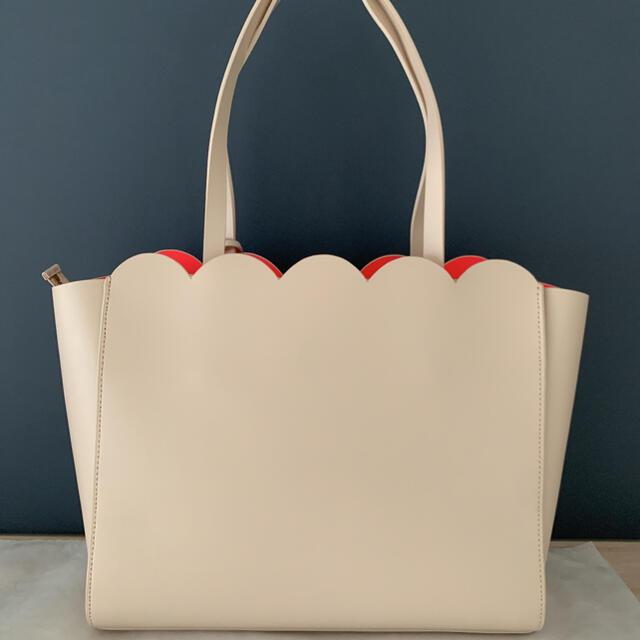 kate spade new york(ケイトスペードニューヨーク)の【日本未入荷・未使用に近い】♠︎ ケイト・スペード レザー トートバッグ♠︎ レディースのバッグ(トートバッグ)の商品写真