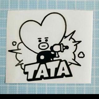 TATA  カッティングステッカー 15センチ