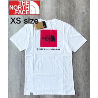 ザノースフェイス(THE NORTH FACE)のザ ノースフェイス Tシャツ レッドボックス Tシャツ 半袖 ホワイト新品 XS(Tシャツ/カットソー(半袖/袖なし))