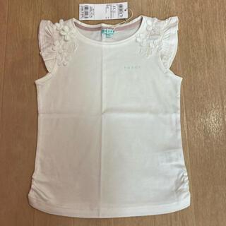 トッカ(TOCCA)のトッカ キッズ☆バンビーニ☆フレンチスリーブ Tシャツ☆110 ホワイト(Tシャツ/カットソー)