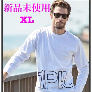 ウノピゥウノウグァーレトレ(1piu1uguale3)の新品未使用 1PIU1UGUALE3 RELAX BIGロゴ 長袖 Tシャツ(Tシャツ/カットソー(七分/長袖))