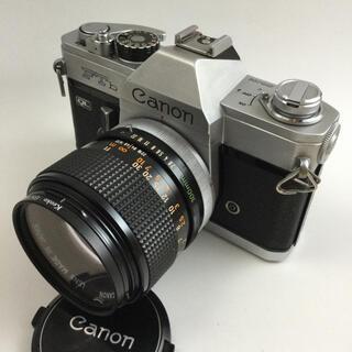 Canon - 週末特価 Canon FTb  QL   FD100mm  F2.8 ケース付き