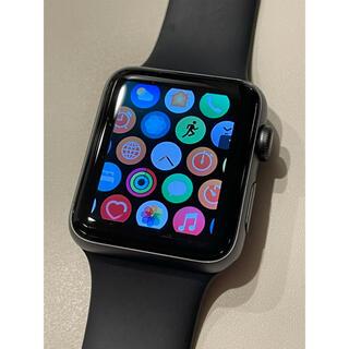 Apple - Apple Watch 3 GPS 42mm バッテリー100% 美品