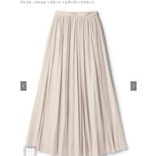グレイル(GRL)のGRL レザープリーツスカート fo1200(ロングスカート)