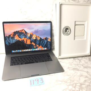 Mac (Apple) - 良品!MacBook pro 15インチ 2016