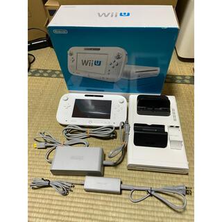 Wii U - WiiUプレミアムセット 32GB shiro