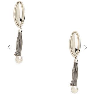 TOGA - TOGA PULLA Metal fringe earrings メタルフリンジ