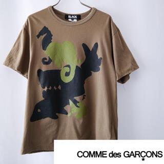 ブラックコムデギャルソン(BLACK COMME des GARCONS)のCOMME des GARÇONS プリント T(Tシャツ/カットソー(半袖/袖なし))
