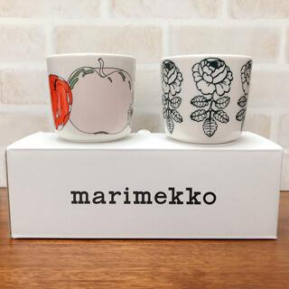 マリメッコ(marimekko)の新品 マリメッコ  ヴィヒキルース グリーン タルフリ ラテマグ セット(グラス/カップ)