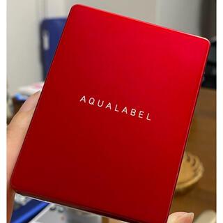 アクアレーベル(AQUALABEL)のアクアレーベル ファンデーション ベージュオークル10 ケース付き(ファンデーション)