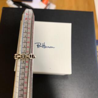 ロンハーマン(Ron Herman)のHOORSENBUHS ホーセンブース ピンキーリング 8号(リング(指輪))