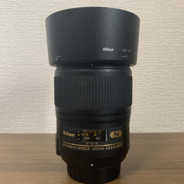 Nikon(ニコン)のNikon AF-S Micro NIKKOR 60mm f/2.8G ED スマホ/家電/カメラのカメラ(レンズ(単焦点))の商品写真