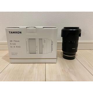 タムロン(TAMRON)の【フィルター付】TAMRON 28-75F2.8 DI3 RXD(A036SE)(レンズ(ズーム))