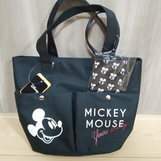 Disney - ミッキー ミニー ディズニー トートバッグ ミニトート パスケース