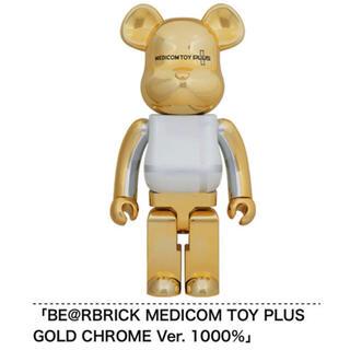MEDICOM TOY - MEDICOM TOY PLUS GOLD CHROME Ver. 1000%