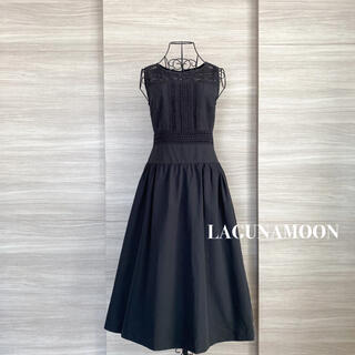 LagunaMoon - LAGUNAMOON ラグナムーン LADYパネルレースワンピース