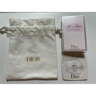 Dior - DIOR 巾着 ミスディオールブルーミングブーケ クリーム