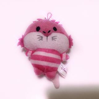 フシギノクニノアリス(ふしぎの国のアリス)のディズニー チェシャ猫 ぬいぐるみ チャーム(キャラクターグッズ)