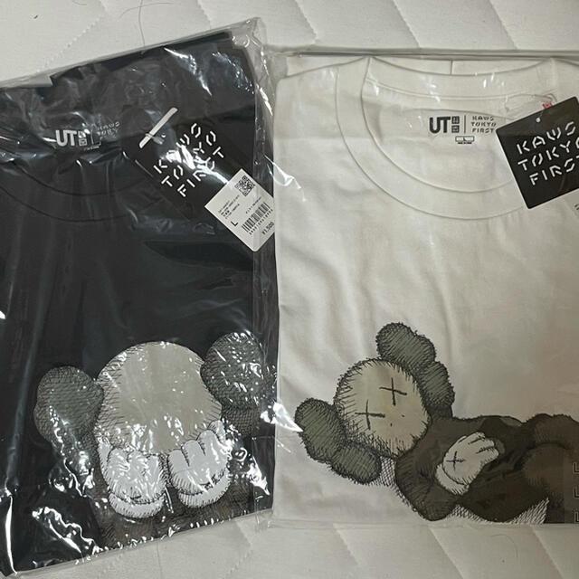 UNIQLO(ユニクロ)のkaws uniqro Lサイズ メンズのトップス(Tシャツ/カットソー(半袖/袖なし))の商品写真