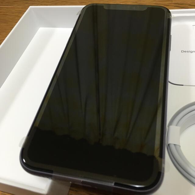 iPhone(アイフォーン)のiPhone11 128GB  simロック解除済み パープル スマホ/家電/カメラのスマートフォン/携帯電話(スマートフォン本体)の商品写真