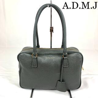 エーディーエムジェイ(A.D.M.J.)のA.D.M.J アクセアワ  ロゴ金具 レザー バッグ(トートバッグ)