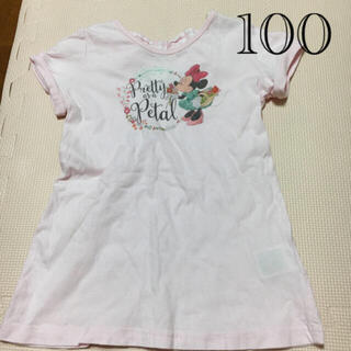 ミニーマウス(ミニーマウス)のディズニー ミニー ミニーマウス 100 tシャツ  トップス(Tシャツ/カットソー)