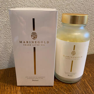 新品未開封 マリンゴールド 飲む美容オイル 深海鮫肝油サプリメント 360粒