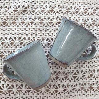 北欧風᯽᨞᨞୭  マグカップ 美濃焼 2個