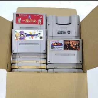 スーパーファミコン - スーパーファミコンソフト24本セット(ジャンク)