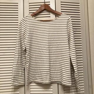 アングリッド(Ungrid)のungrid  ボーダー ロングTシャツ(Tシャツ(長袖/七分))