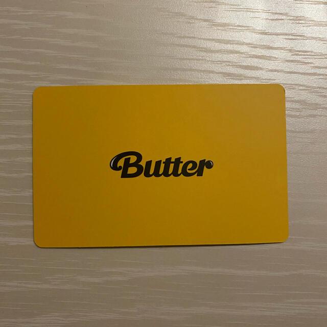 防弾少年団(BTS)(ボウダンショウネンダン)のBTS butter トレカ 集合 Cream ver.  エンタメ/ホビーのタレントグッズ(アイドルグッズ)の商品写真