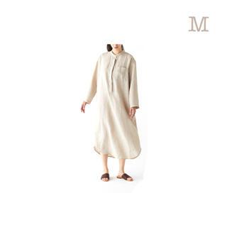 ムジルシリョウヒン(MUJI (無印良品))の無印良品     オーガニックリネンクルタ  婦人M・生成(ルームウェア)