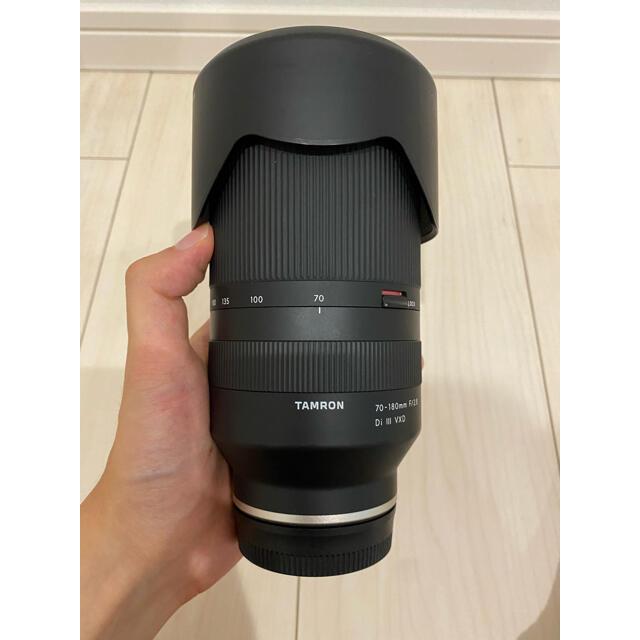 TAMRON(タムロン)の【高級フィルター付き】TAMRON 70-180mm F/2.8 スマホ/家電/カメラのカメラ(レンズ(ズーム))の商品写真
