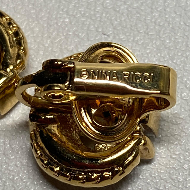 NINA RICCI(ニナリッチ)の正規品/美品/NINA RICCI/ニナリッチ/イヤリング レディースのアクセサリー(イヤリング)の商品写真