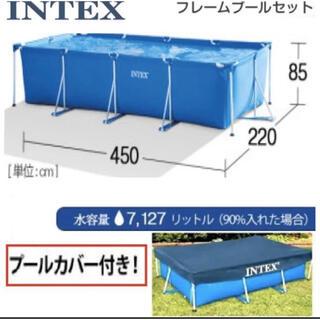 INTEX フレームプール 特大
