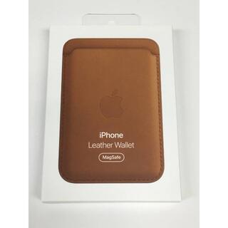 Apple - 新品未開封品 Apple純正 MagSafe対応 iPhoneレザーウォレット