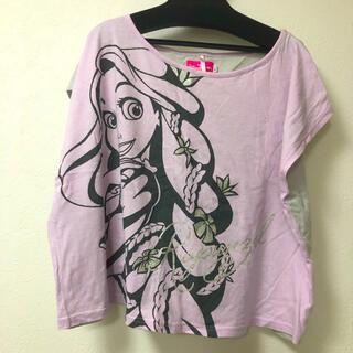 ディズニー(Disney)のディズニーランド ラプンツェル だぼシャツ L(シャツ/ブラウス(半袖/袖なし))