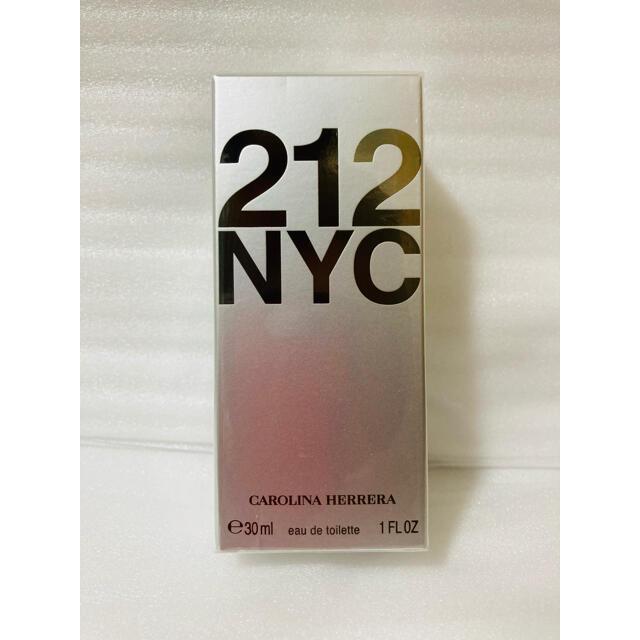 CAROLINA HERRERA(キャロライナヘレナ)の【新品・未開封】キャロライナヘレラ 212 オードトワレ 30ml コスメ/美容の香水(ユニセックス)の商品写真