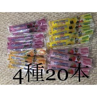コストコ(コストコ)のコストコ ポラレッティ アイスキャンディ 4種20本(菓子/デザート)