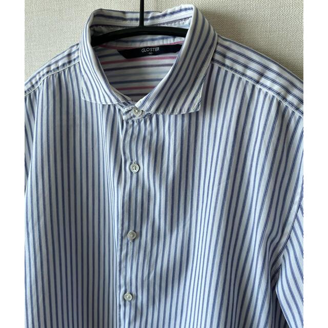 FREDY & GLOSTER(フレディアンドグロスター)のフレディ&グロスター 半袖シャツ サイズM  ビジネス使用 メンズのトップス(シャツ)の商品写真