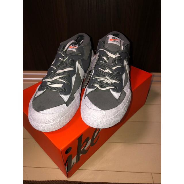 "NIKE(ナイキ)のサカイ × ナイキ ブレーザー ロー ""アイアン グレー"" メンズの靴/シューズ(スニーカー)の商品写真"